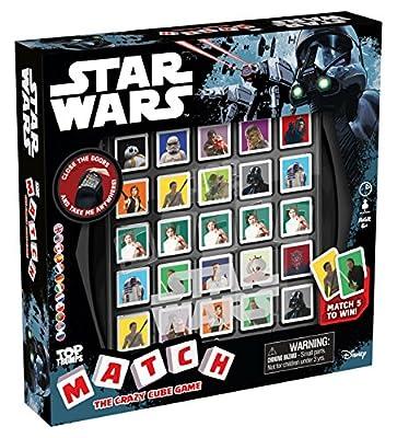 Star Wars Top Trumps Match Cube Game Jeu de cartes