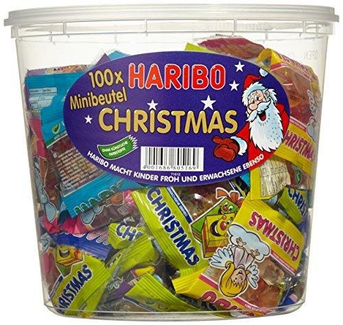 Haribo Weihnachten.Weihnachten Geschenkidee Haribo Minibeutel Christmas Dose