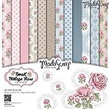 Elizabeth Craft Designs Sweet Vintage Rose Papier Pack, mehrfarbig, 12x 12Zoll