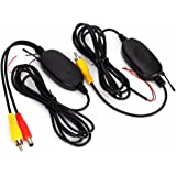 3T6B 2,4 GHz Inalámbrico Vídeo RCA Transmisor y Receptor Kit para la Cámara de Reserva del Coche de la Opinión Posterior del