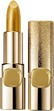 L'Oreal Paris Color Riche Metallic Addiction Lipstick, Pure Gold 629, 3.7g