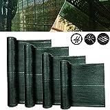Froadp Brise-vue pour balcon avec œillets et cordon vert/anthracite 1.2x10m vert