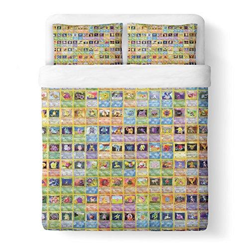 Tarjetas-de-Pokemon-juego-de-funda-de-edredn