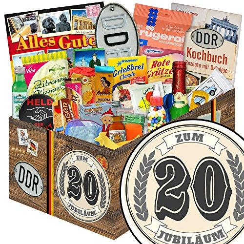 20. Jubiläum | 24x Allerlei | DDR Box | 20 Jähriges Jubiläum Ideen