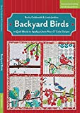 Backyard Birds: 12 Quilt Blocks to Applique from Piece O' Cake Designs by Becky Goldsmith (2014-02-20)