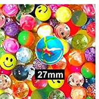 50 SUPER BOUNCE BOUNCY BALL JET BALLS CHILDREN KIDS BIRTHDAY PARTY BAG GIFT TOY