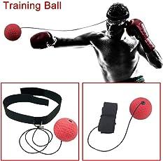 Soulitem Boxing Punch Übung Kampf Ball mit Kopfband für Fitness Speed Training Boxen