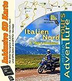 Adventure Touren durch Italien Nord (Trentino - Friaul- Venetien ) mit der BMW 1200 GS (inkl. SD Karte für BMW Navigator und Garmin )