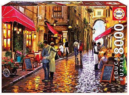 Educa 16788 - Puzzle 8000 Café Street