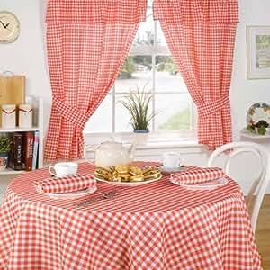 Emma barclay rideaux de cuisine avec t te fourreau for Les rideaux de la cuisine