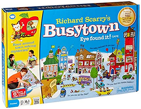 Richard Scarry Busy Town by I Can Do That Games (English Manual)