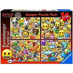 Ravensburger Emoji Puzzle 4 en 1-100 Piezas (06967)