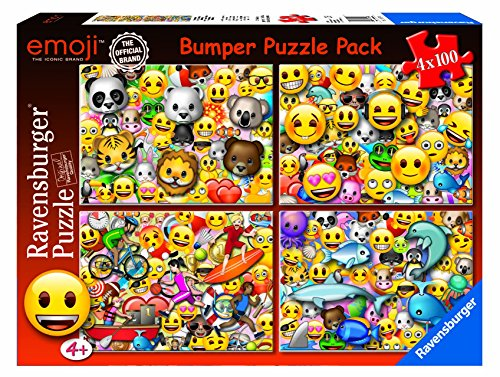 emoji puzzle Ravensburger Italy 06967–Emoji Puzzle 4x 100Stück