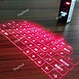 Mini Virtual Bluetooth 3.0 Laser Projection Keyboard Mouse for Smart Phone PC Tablet Laptop ECAKB-358387