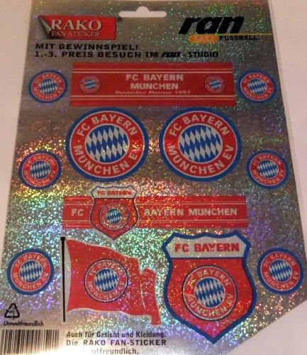 BAYERN MÜNCHEN Aufkleber / Sticker / Gesichtaufkleber - Dynamo-fußball-jersey
