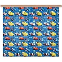 AG Diseño fcsxl 4332Disney Cars, habitación de los Niños/cortinas, 2piezas plástico, multicolor, 180x 160cm