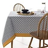 La Redoute Interieurs Cisare Printed Tablecloth Grey Size 350