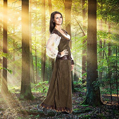 Kostümplanet® Lady Marianne Robin Hood Damen Kostüm Kleid Größe 40/42 - 5