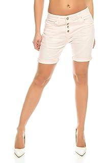 elasticizzati Pantaloncini da donna in vita alta Crazy Age