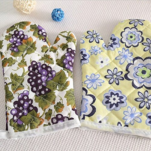 Microwave Oven Mitts - Practical 1pc Cute Cartoon Cooking Microwave Oven Mitt Insulated Non Slip Glove Accessory Style - Microwave Oven Mitts Gloves Kitchen -