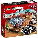 Lego 10742 Juniors Rasante Trainingsrunden in der Teufelsscchanze, Disney Autos