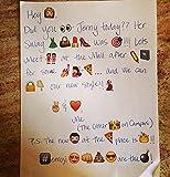 WOSON 28 Blätter Whatsapp Emoji Sti...