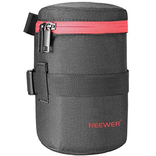 Neewer Tasche für Objektiv aus strapazierfähigem Nylon für 18-300 mm Objektiv wie Canon 100MM 70-300lS 75-300 & Nikon 55-300 28-300 105VR 70-300