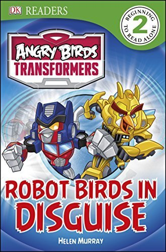 DK Readers L2: Angry Birds Transformers: Robot Birds in Disguise by Amos, Ruth (2014) Paperback