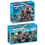 Playmobil Knights 2er Set 6627 6628 Drachenritter-Bastion