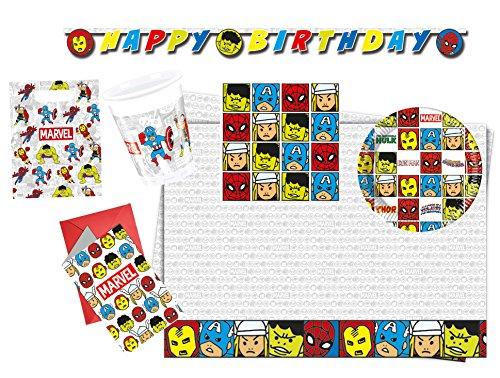 Procos 10118254 Partyset Avengers Team Power