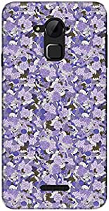 The Racoon Grip printed designer hard back mobile phone case cover for Coolpad Note 3. (Violet Cra)