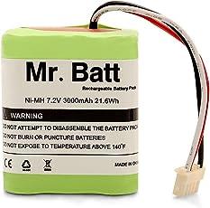 Mr.Batt 3000mAh Replacement Battery for iRobot Braava 380, 380T, Mint 5200, 5200B, 5200C Floor Mopping Robots by Mr.Batt
