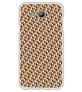 Colourful Pattern 2D Hard Polycarbonate Designer Back Case Cover for Samsung Galaxy On7 G600FY :: Samsung Galaxy On 7 (2015)