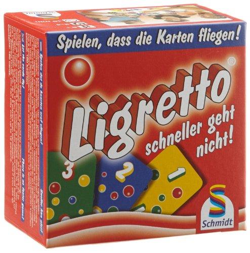 Preisvergleich Produktbild Schmidt Spiele 01301 - Ligretto, rot