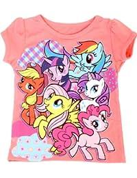 My Little Pony Best Friends Patterns Coral Kleinkind T-Shirt