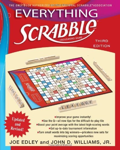 Everything Scrabble: Third Edition by Edley, Joe, Williams, John (2009) Paperback