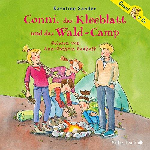 Cover des Mediums: Conni, das Kleeblatt und das Wald - Camp  ( 2 CD )