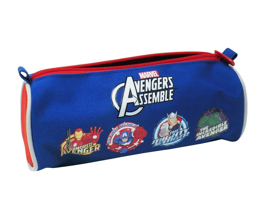 CUCUBA Marvel Avengers Assemble Estuche para LA Escuela Gran Capacidad – Idea DE RAGALO