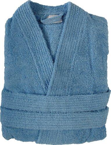 Sensei 096147M.09 - Accappatoio da bagno Luxury, taglia M, colore: Azzurro XL grigio Lavande