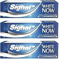 Signal Dentifrice Blancheur White Now 75 ml - Lot de 3