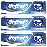 Signal Dentifrice Blancheur White Now 75ml - Lot de 3