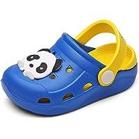 Mixte Enfant Mules et Sabots Été Sandales de Plage à Enfiler Chaussures Antidérapant Pantoufles Clog Chaussons pour…