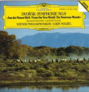 "Dvorak; Symphony 9 "" New World "" & Carnival Overture"