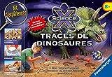 Ravensburger- Ravensburger-18982-Jeu Scientifique-Traces De Dinosaures Midi Scie, 18982, Multicolore, Taille Unique