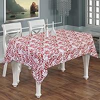 Tovaglia rettangolare stampato a 6 posti -100% cotone floreale rettangolo tovaglia lunga -140 x 180 cm