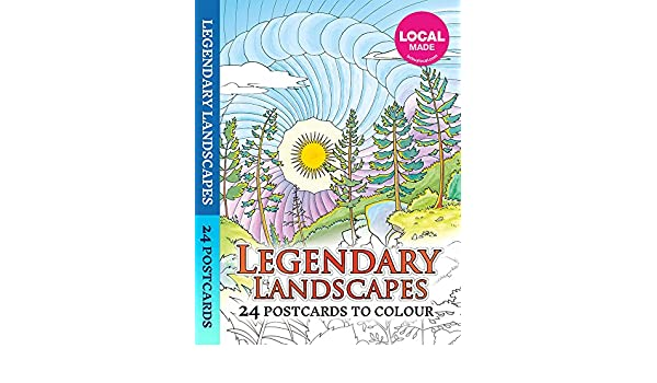 Amazonin Buy Legendary Landscapes 24 Postcards Book Online At Low Prices In India