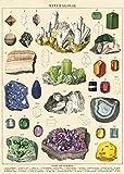 Cavallini Geschenkpapier Mineralogie