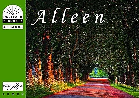 Alleen - Alleys - Allees: Postkartenbuch