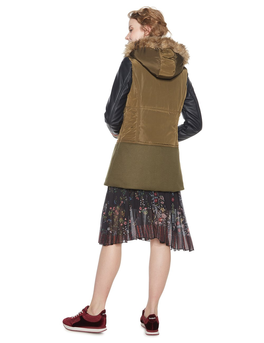 Desigual Padded_Porto Abrigo para Mujer
