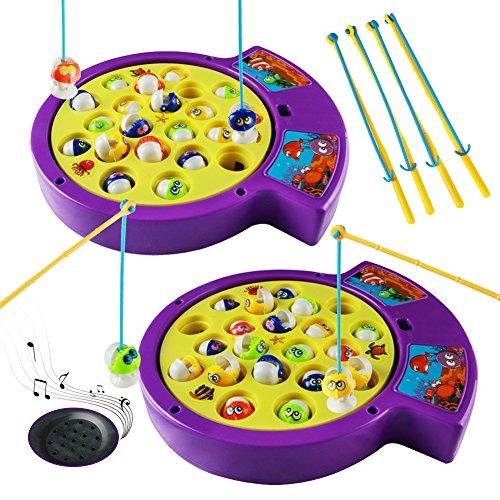 Gioco musicale da pesca bambini